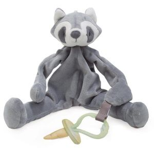 Bunnies By The Bay raccoon pacifier holder